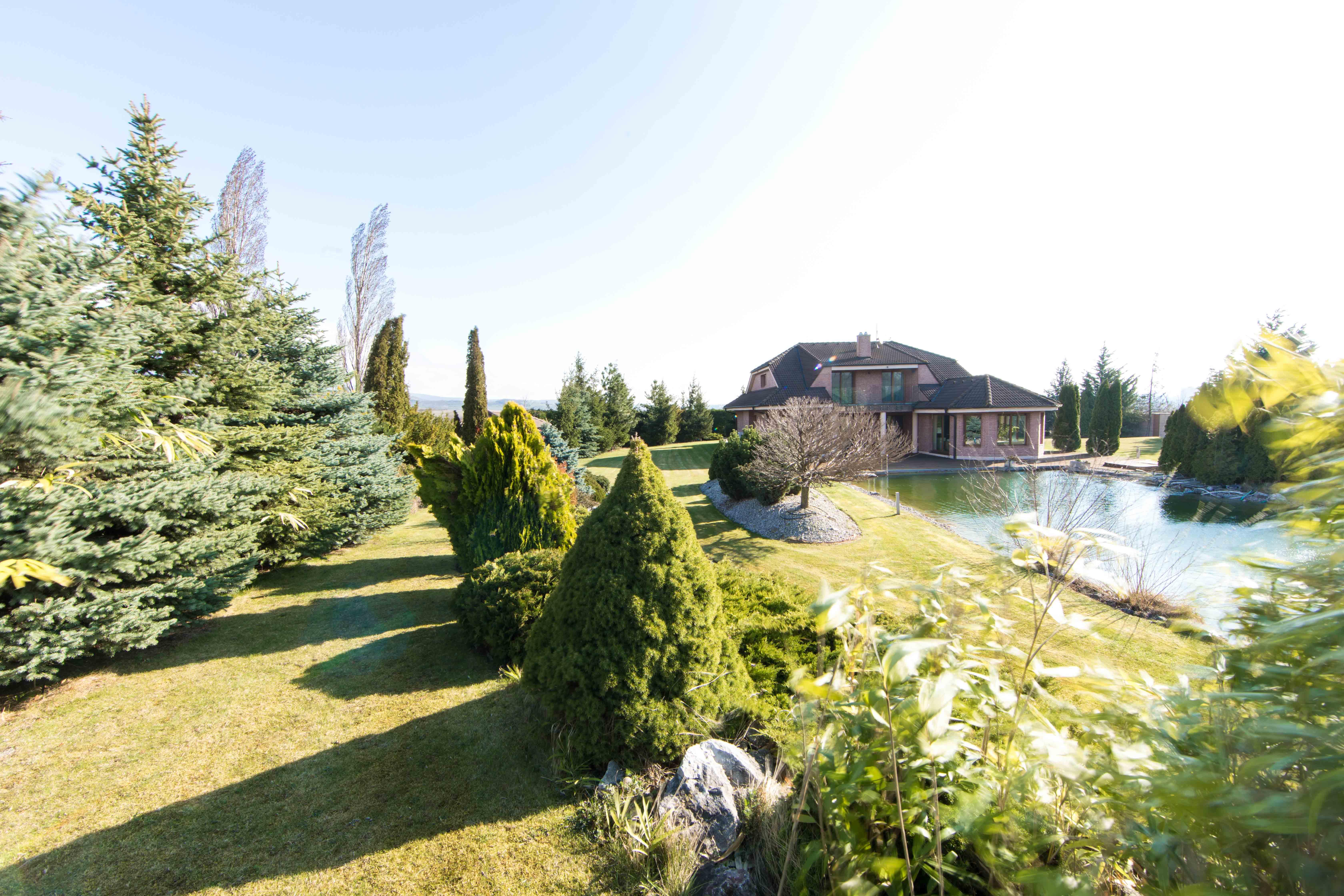 Rodinná Vila, Limbach, prírodné jazero, 4030 m2, úžitková plocha 420m2-5