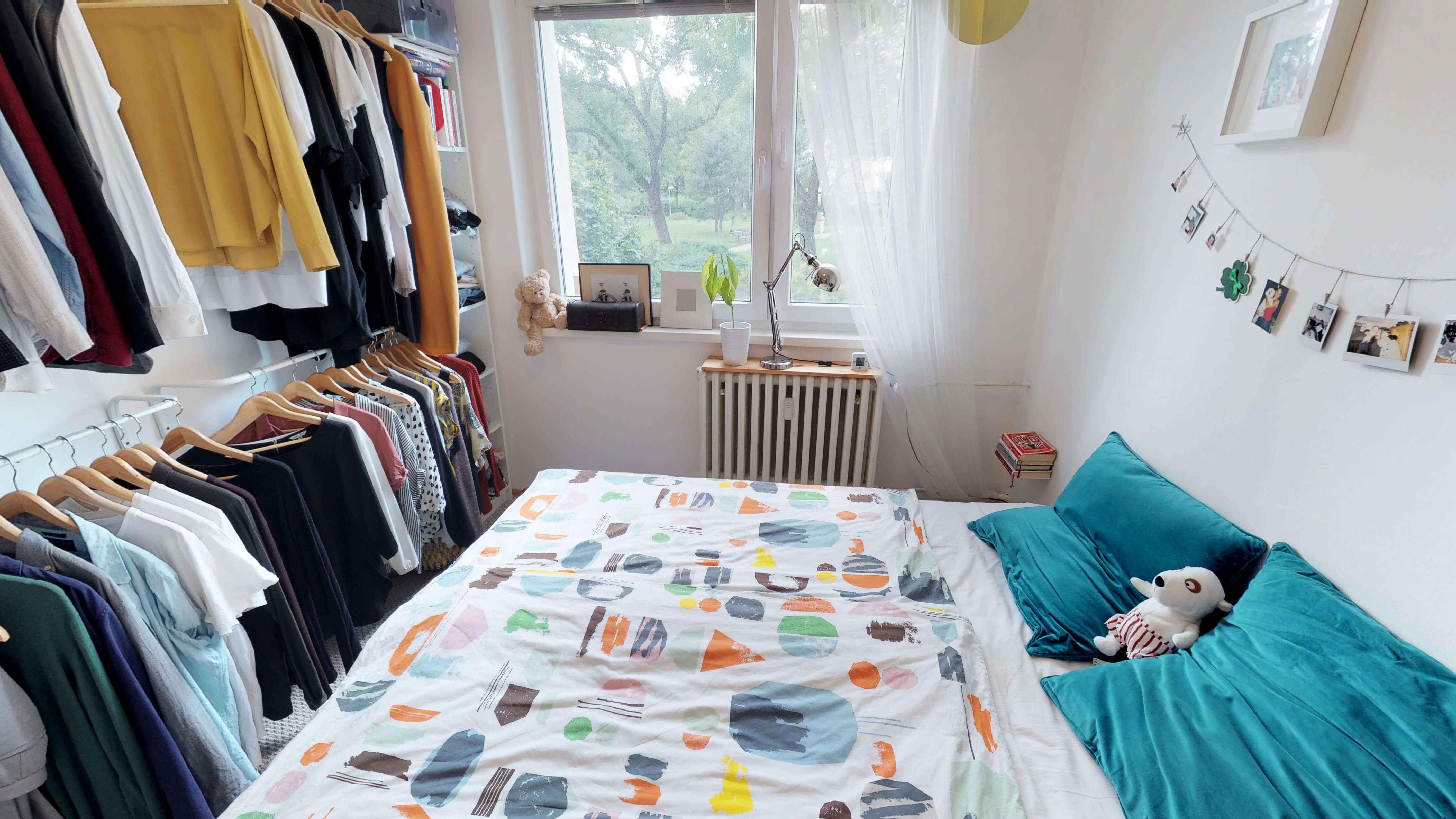 Predané Predaj exkluzívneho 3 izb. bytu,v Ružinove, ulica Palkovičová, blízko Trhoviska Miletičky v Bratislave, 68m2, kompletne zariadený-27