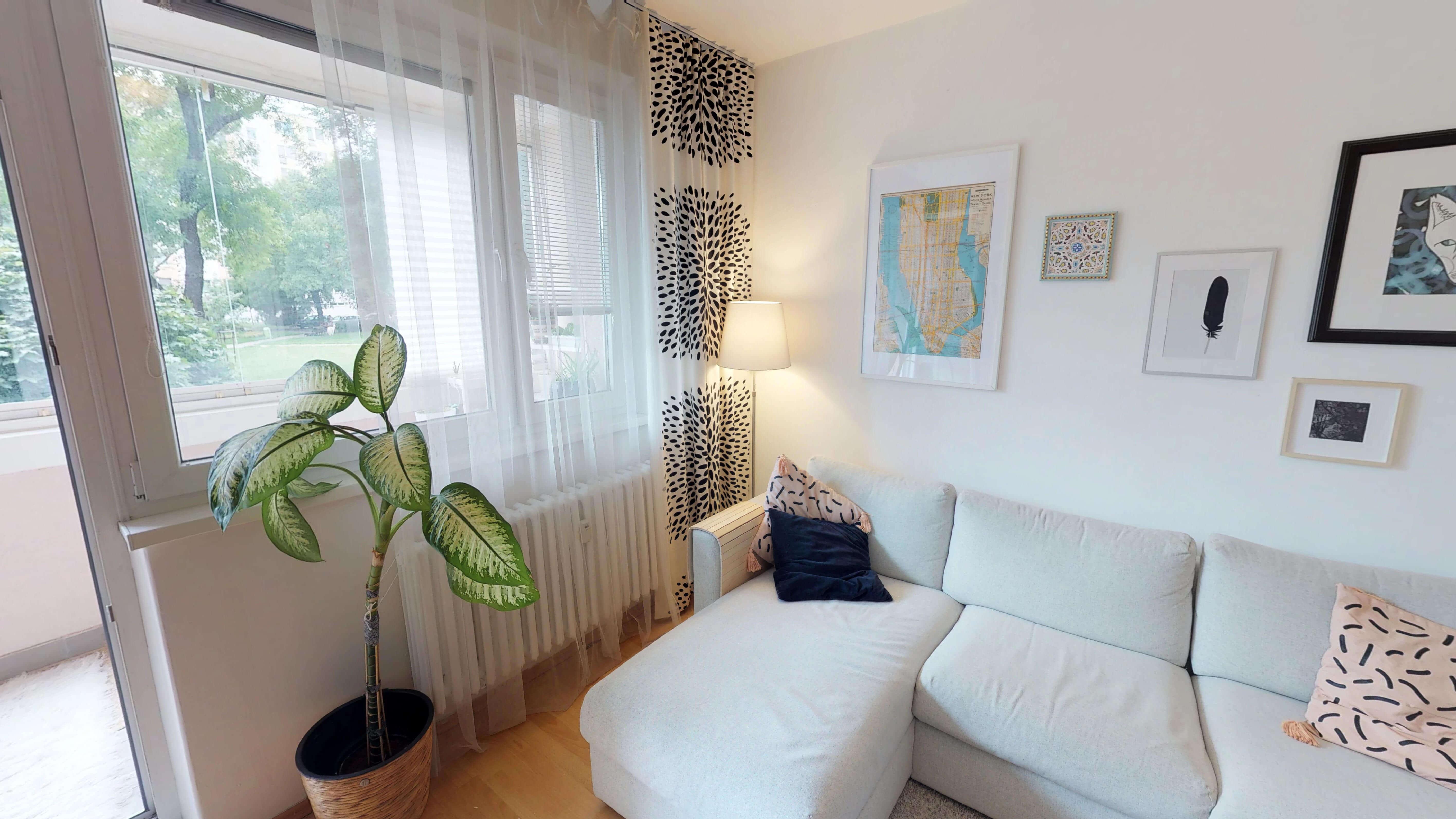 Predané Predaj exkluzívneho 3 izb. bytu,v Ružinove, ulica Palkovičová, blízko Trhoviska Miletičky v Bratislave, 68m2, kompletne zariadený-18