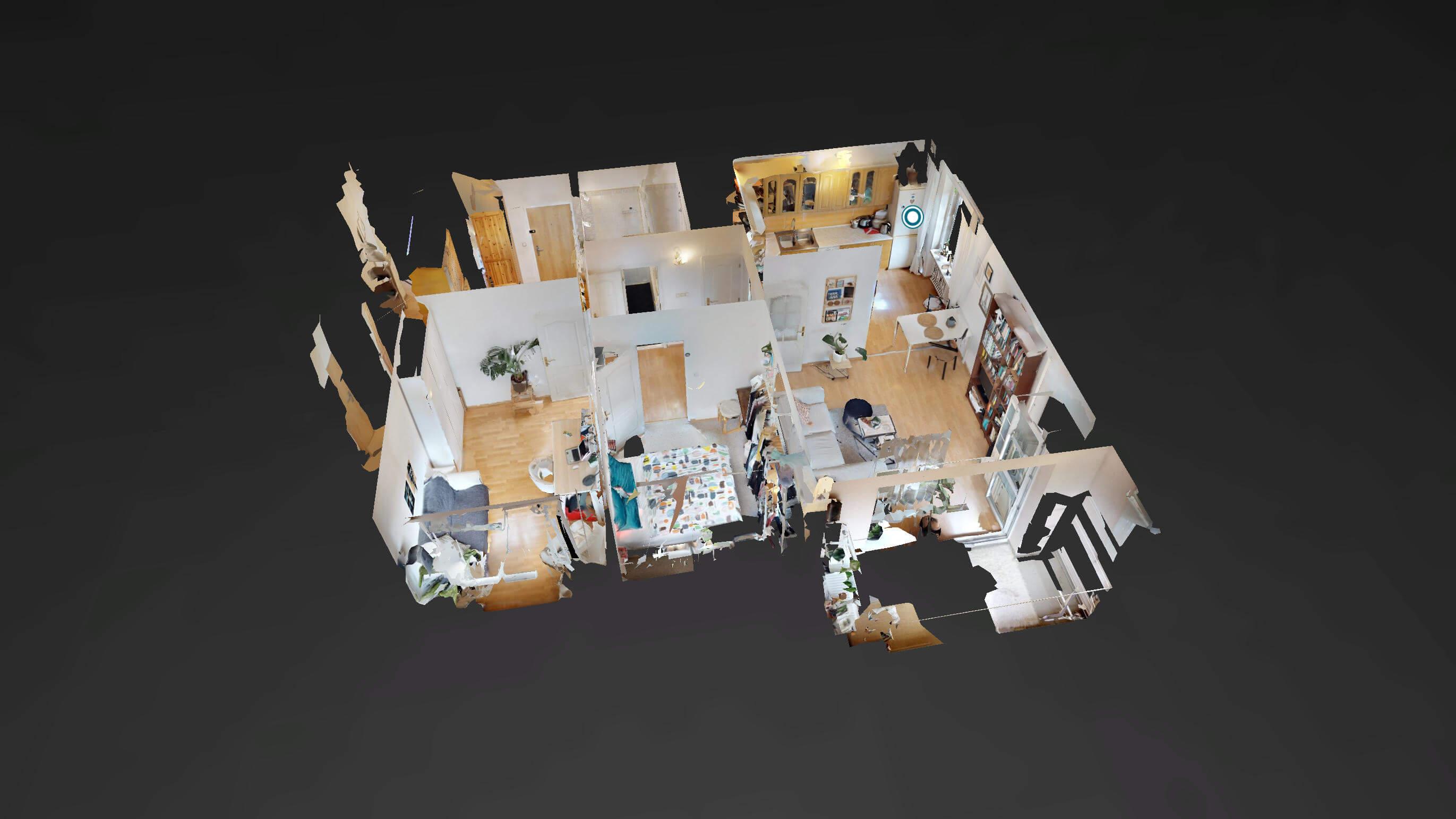 Predané Predaj exkluzívneho 3 izb. bytu,v Ružinove, ulica Palkovičová, blízko Trhoviska Miletičky v Bratislave, 68m2, kompletne zariadený-39