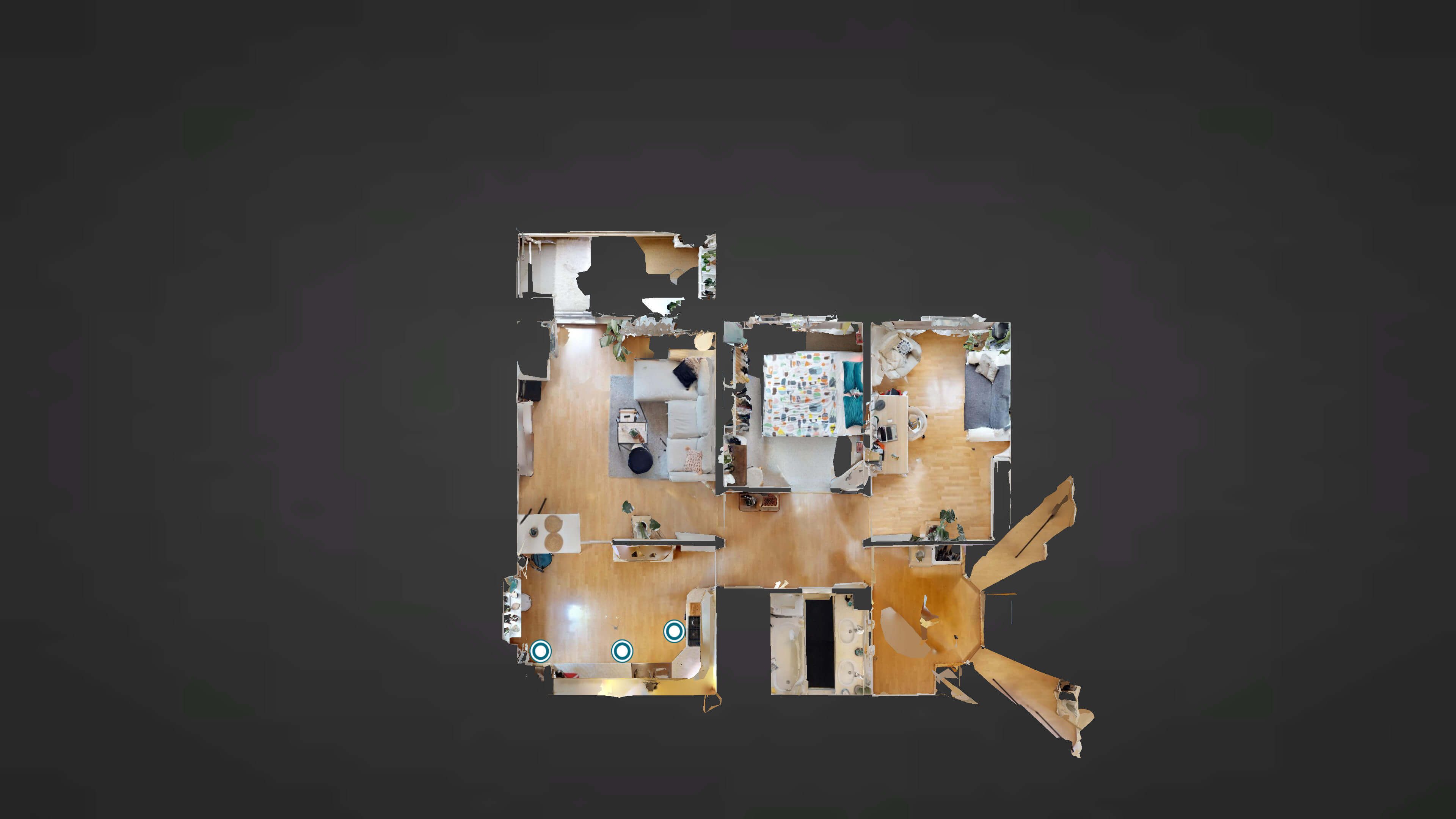 Predané Predaj exkluzívneho 3 izb. bytu,v Ružinove, ulica Palkovičová, blízko Trhoviska Miletičky v Bratislave, 68m2, kompletne zariadený-38