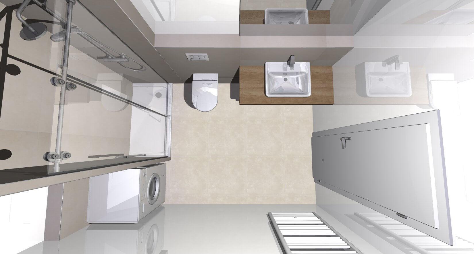 Novostavba posledný 1 izbový byt, širšie centrum v Bratislave, Beskydská ulica, 44,87m2, štandard, terasa 40m2,-13
