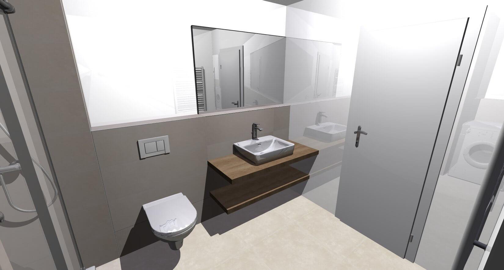 Novostavba posledný 1 izbový byt, širšie centrum v Bratislave, Beskydská ulica, 44,87m2, štandard, terasa 40m2,-11