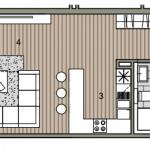 Novostavba posledný 1 izbový byt, širšie centrum v Bratislave, Beskydská ulica, 44,87m2, štandard, terasa 40m2,-10