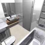 Novostavba 4 izbový byt, širšie centrum v Bratislave, Beskydská ulica, 90,37m2, balkón 4,5m2, štandard.-11