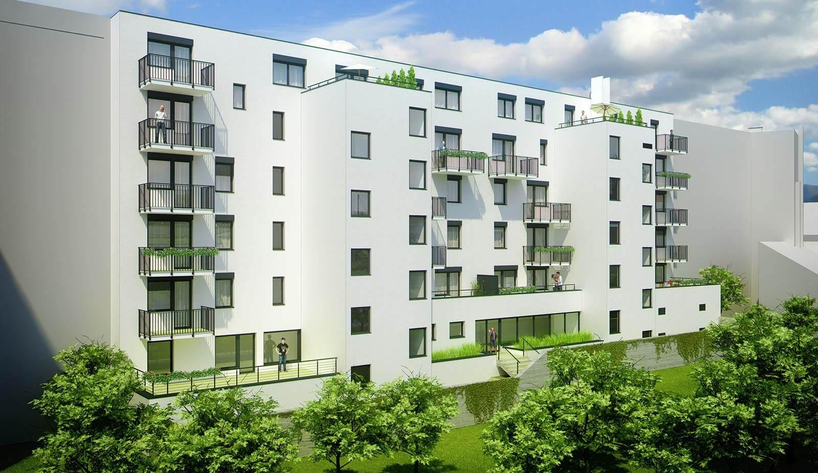Novostavba 4 izbový byt, širšie centrum v Bratislave, Beskydská ulica, 90,37m2, balkón 4,5m2, štandard.-9