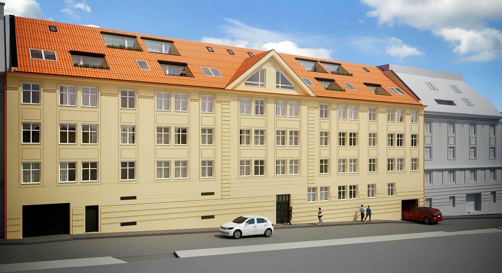 Novostavba 4 izbový byt, širšie centrum v Bratislave, Beskydská ulica, 90,37m2, balkón 4,5m2, štandard.-4