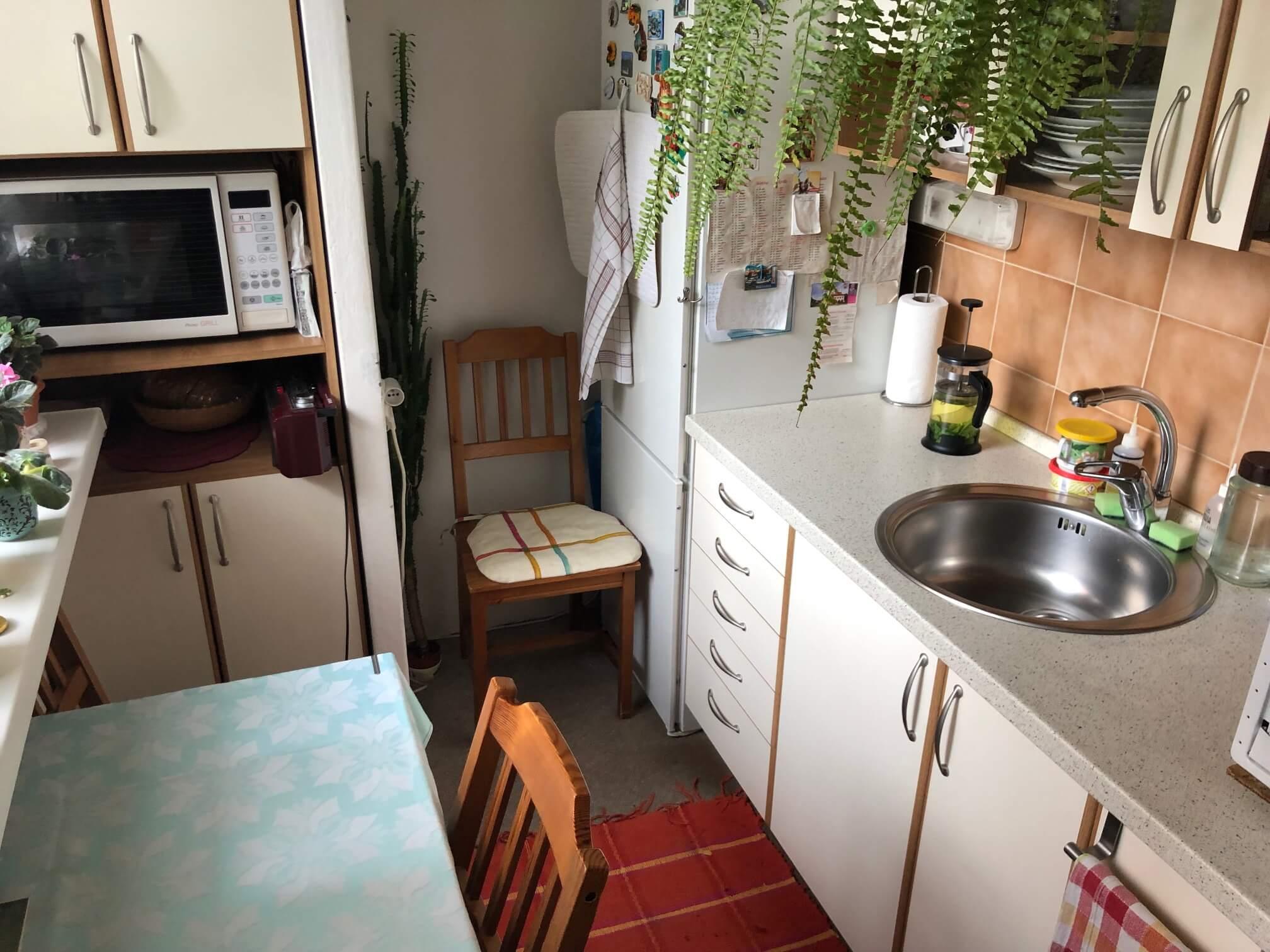 Predaný: 1 izbový byt, Ipeľská, Bratislava, 38m2, nízke náklady, parkovanie, vynikajúca občianska vybavenosť-9