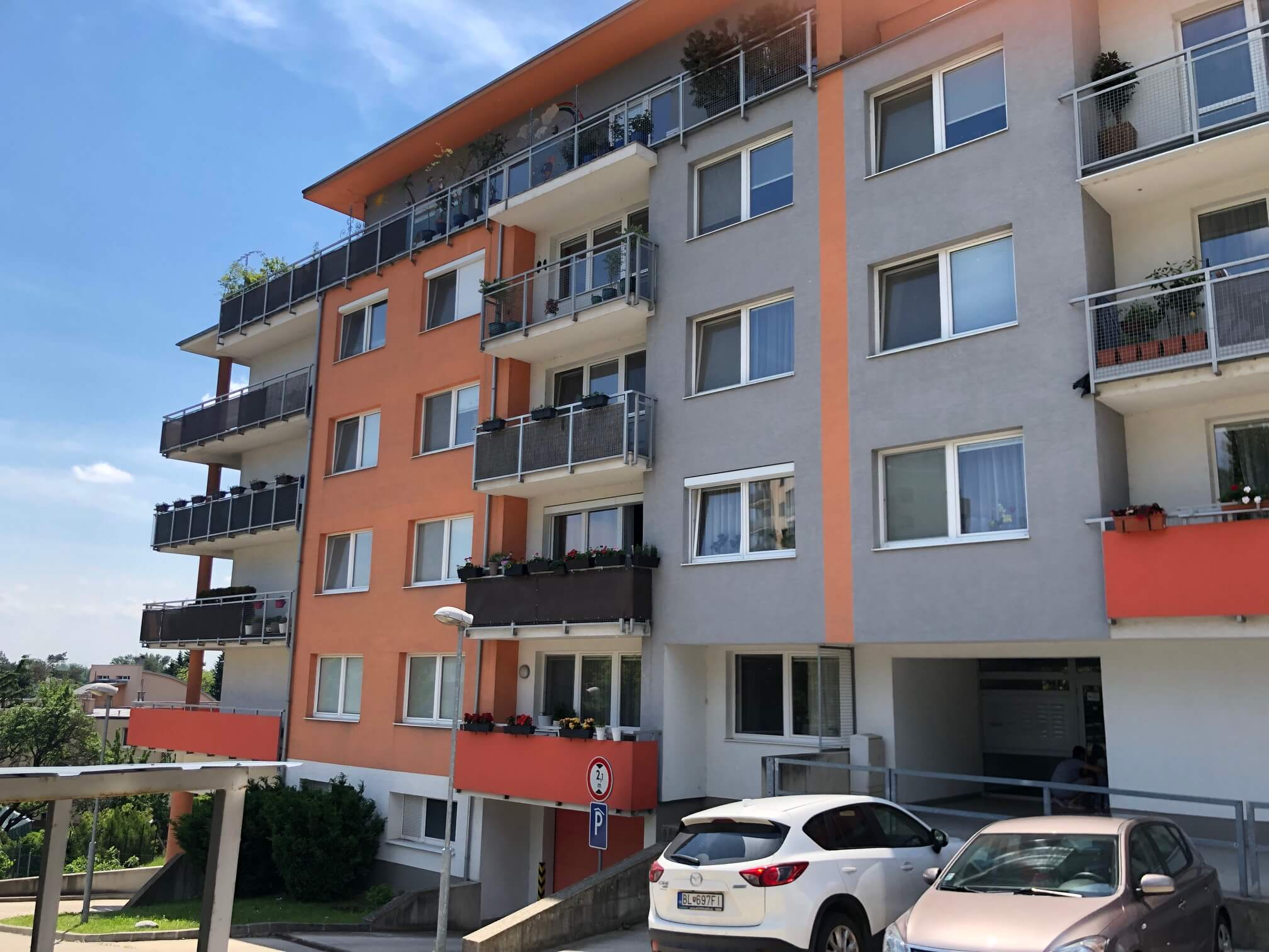 Rezervované: 3 izbový byt, novostavba, 72,25m2, loggia 4,82m2, Staré Grunty, Karlovka, garážové státie-2