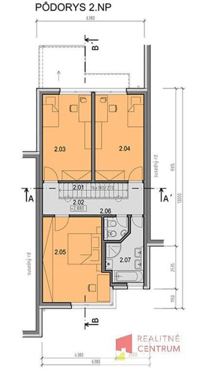 Prenájom 4izb Novostavby RD kompletne zariadneného,Hrachova, Prievoz, Bratislava 281m2, záhrada 65m2-43