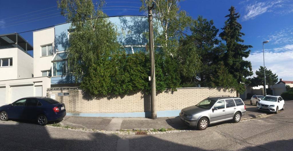 Troj podlažná budova s 10 kanceláriami, Riznerova ulica v Bratislave, nad hradom, úžitková 610m2-8