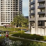 2 izbový byt v Sky parku, I Veža, 6 nadzemné podlažie, úžitková 46,28 m2 ,Loggia 4,75m2, parkovanie-45