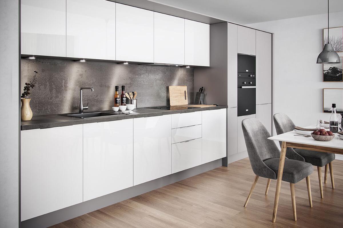 2 izbový byt v Sky parku, I Veža, 6 nadzemné podlažie, úžitková 46,28 m2 ,Loggia 4,75m2, parkovanie-31