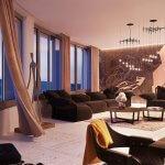 2 izbový byt v Sky parku, I Veža, 6 nadzemné podlažie, úžitková 46,28 m2 ,Loggia 4,75m2, parkovanie-27