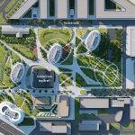 2 izbový byt v Sky parku, I Veža, 6 nadzemné podlažie, úžitková 46,28 m2 ,Loggia 4,75m2, parkovanie-34