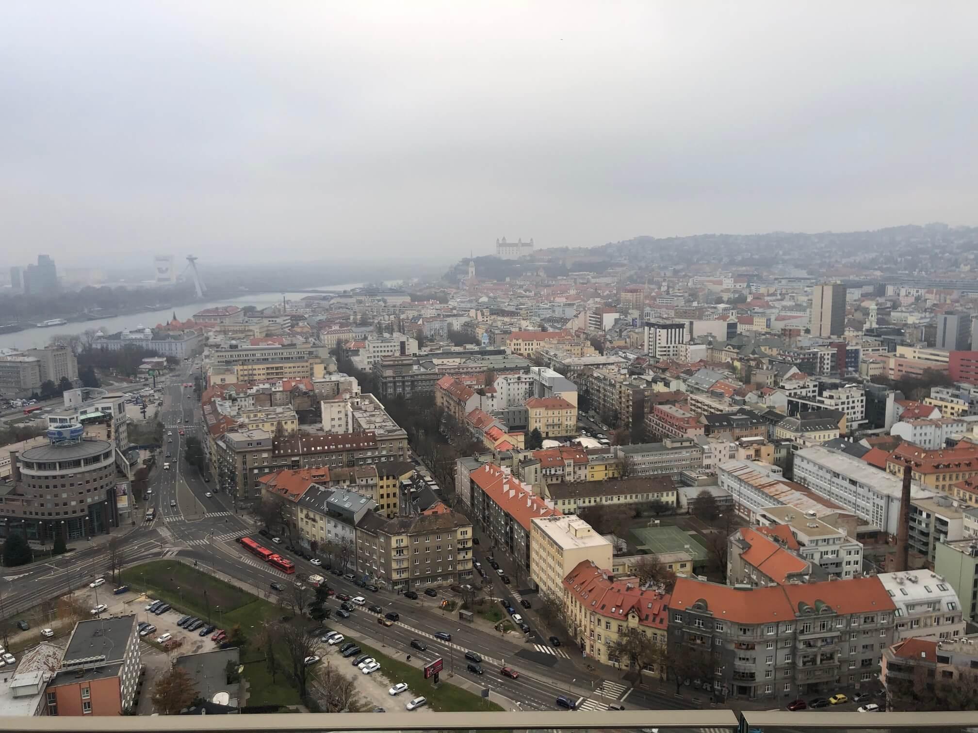 2 izbový byt v Sky parku, I Veža, 6 nadzemné podlažie, úžitková 46,28 m2 ,Loggia 4,75m2, parkovanie-0