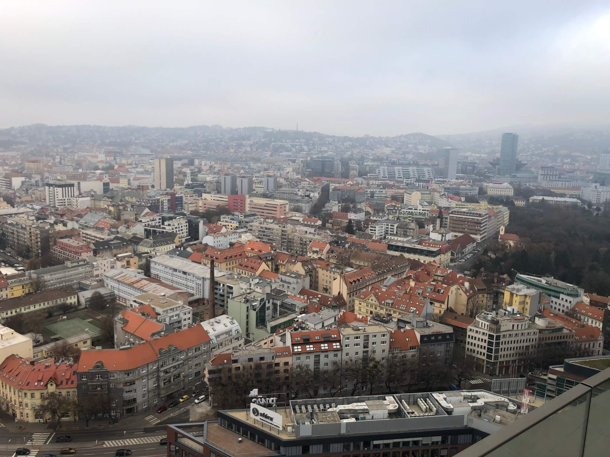 2 izbový byt v Sky parku, I Veža, 6 nadzemné podlažie, úžitková 46,28 m2 ,Loggia 4,75m2, parkovanie-2