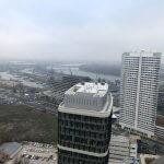2 izbový byt v Sky parku, I Veža, 6 nadzemné podlažie, úžitková 46,28 m2 ,Loggia 4,75m2, parkovanie-8