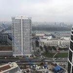 2 izbový byt v Sky parku, I Veža, 6 nadzemné podlažie, úžitková 46,28 m2 ,Loggia 4,75m2, parkovanie-6