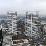 2 izbový byt v Sky parku, I Veža, 6 nadzemné podlažie, úžitková 46,28 m2 ,Loggia 4,75m2, parkovanie-5