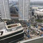 2 izbový byt v Sky parku, I Veža, 6 nadzemné podlažie, úžitková 46,28 m2 ,Loggia 4,75m2, parkovanie-3
