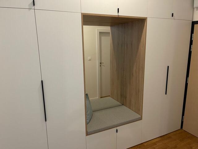 2 izbový byt úplne nový, centrum, Mýtna 50, 47,17m2, parkovanie, novostavba, zariadený, projekt Proxenta-15