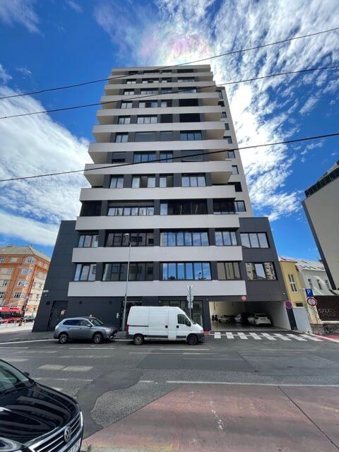 2 izbový byt úplne nový, centrum, Mýtna 50, 47,17m2, parkovanie, novostavba, zariadený, projekt Proxenta-9