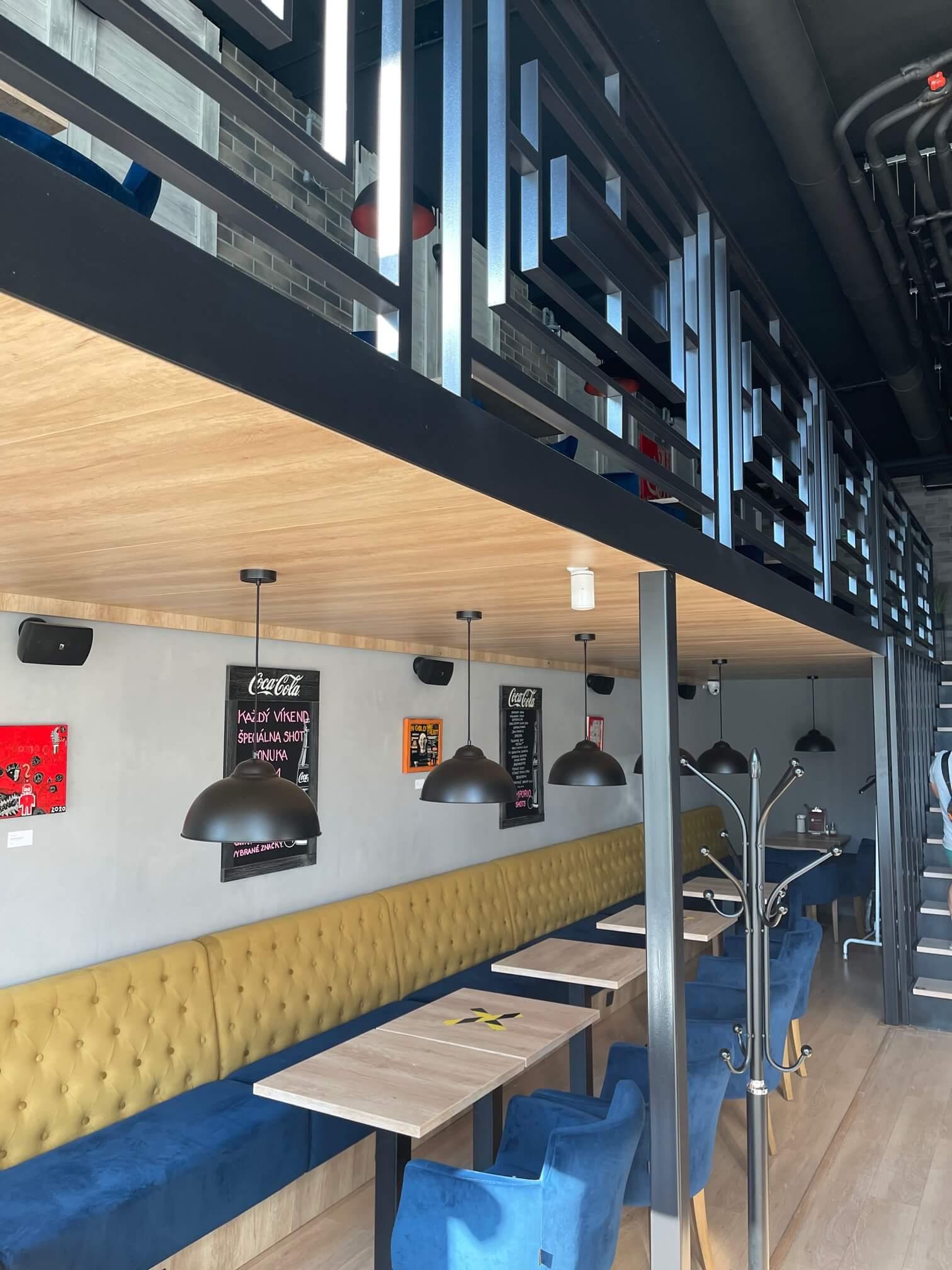 Predaj exkluzívneho baru 128,80m2, pre 70 + 40 ludí, kompletne zrekonštruovaný, Panorama City-6
